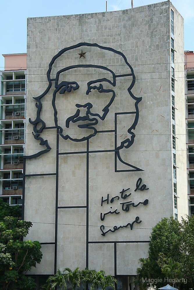 Monument to Che Guevara by Maggie Hegarty