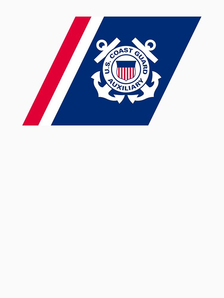 Racing Stripe of the United States Coast Coast Guard Auxilary by abbeyz71
