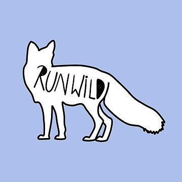 Ve a la zorra correr salvaje de KaylaPhan