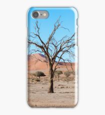 Sossusvlei Namibia Dead tree. iPhone Case/Skin