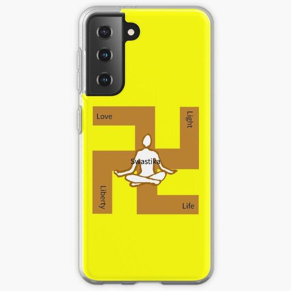 Swastika-love-light-life-liberty Samsung Galaxy Soft Case