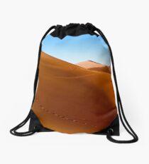 Sand dune near Sossusvlei Drawstring Bag