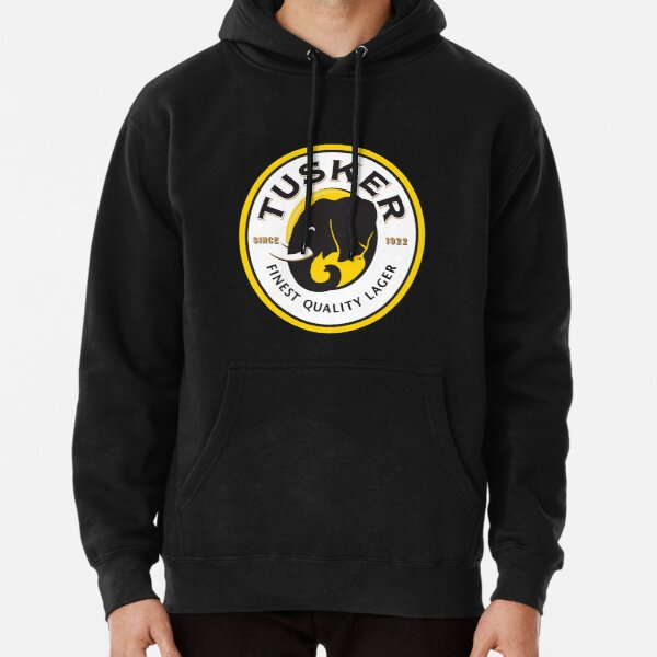 Tusker Lager Logo Pullover Hoodie