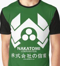 NAKATOMI PLAZA - DIE HARD BRUCE WILLIS (WHITE) Graphic T-Shirt
