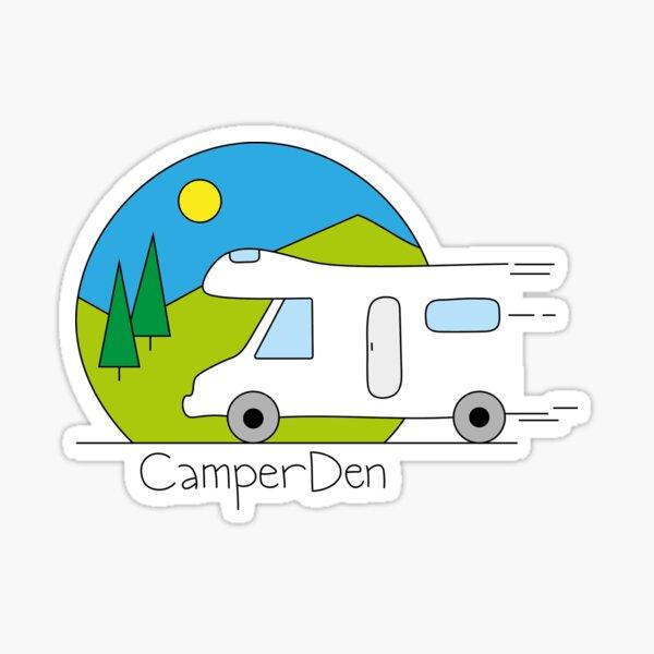 CamperDen Sticker