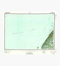 USGS TOPO Map Alaska AK Black 360674 1951 250000 Photographic Print