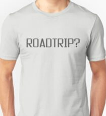 Roadtrip Travel Adventure Holiday Simple T shirt Sign Slim Fit T-Shirt
