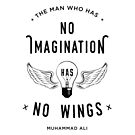 Muhammad Ali Wings Quote by davechaps