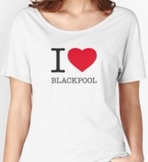I ♥ BLACKPOOL Women's Relaxed Fit T-Shirt