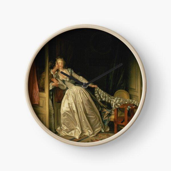 Fragonard The Stolen Kiss Clock