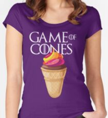 GAME OF CONES Women's Fitted Scoop T-Shirt