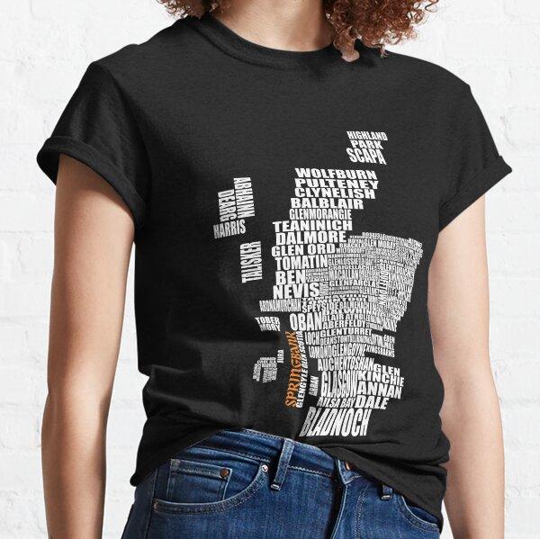 Springbank Karte Classic T-Shirt