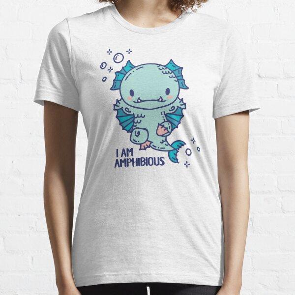 Cute Amphibious monster swimmer Essential T-Shirt