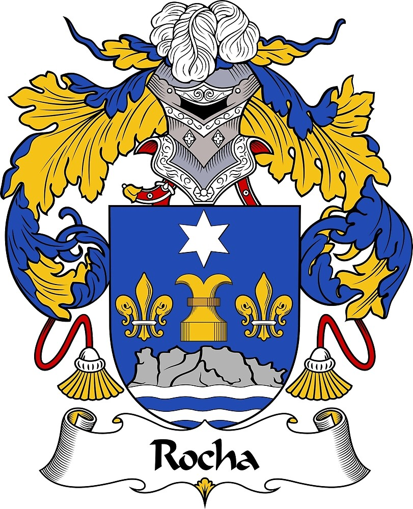 Rocha coat of arms rocha family crest by william martin redbubble rocha coat of arms rocha family crest by william martin buycottarizona