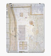 Vintage Map of New Orleans Louisiana (1747) iPad Case/Skin