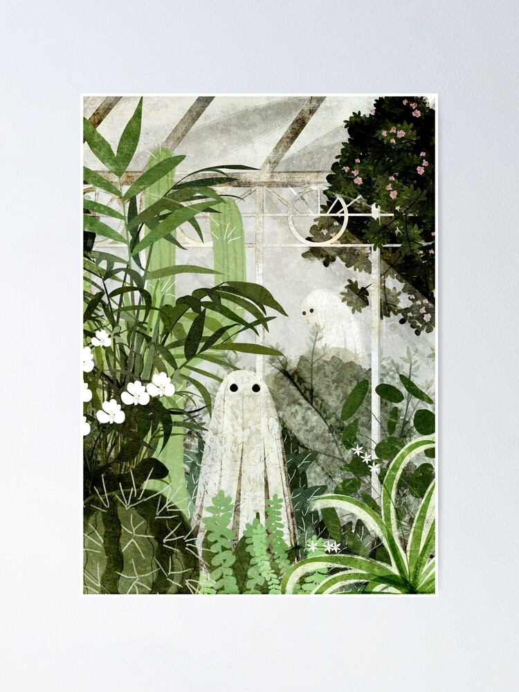 Alternate view of There's A Ghost in the Greenhouse Again Poster