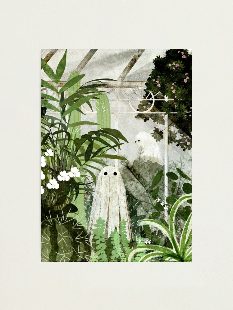 Alternate view of There's A Ghost in the Greenhouse Again Photographic Print