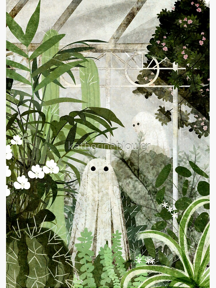 There's A Ghost in the Greenhouse Again by katherineblower