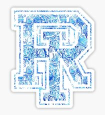 Lilly Pulitzer University of Rhode Island Sticker