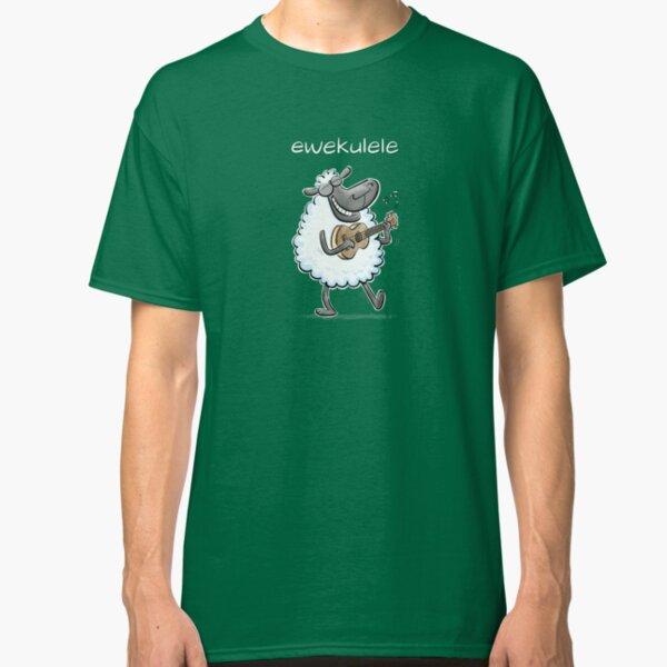 Ewekulele - a sheep and a ukulele Classic T-Shirt
