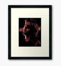 Snake Plissken Framed Print