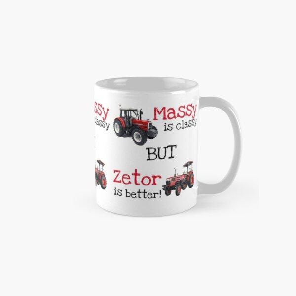 Massy is classy, but Zetor is better Classic Mug