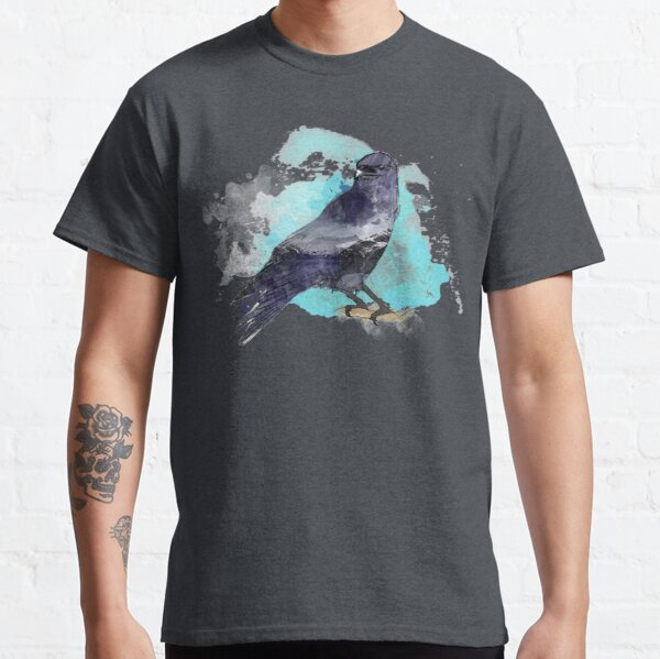 Double Exposure Raven Classic T-Shirt