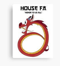 House Fa Canvas Print