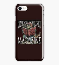 DimensionBucket Magazine Podcast Artwork iPhone Case/Skin