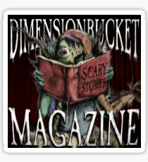 DimensionBucket Magazine Podcast Artwork Sticker