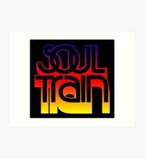 SOUL TRAIN (SUNSET) Art Print
