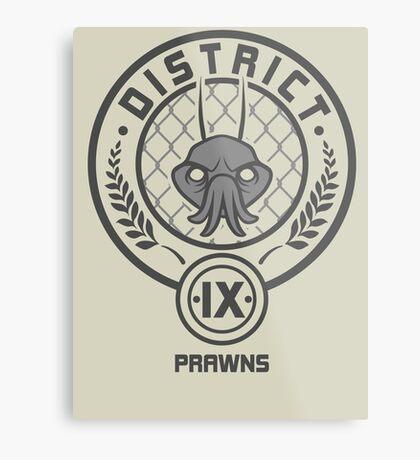Prawn District (HG Parody) Metal Print