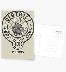 Prawn District (HG Parody) Postcards
