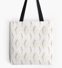 Cute lavender seamless tile pattern.French wallpaper.  Tote Bag