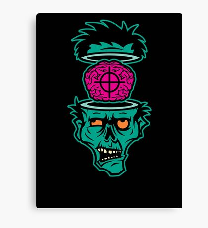 Shoot 'em in da Head Bro! Canvas Print