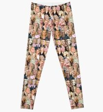 Kate McKinnon collage Leggings