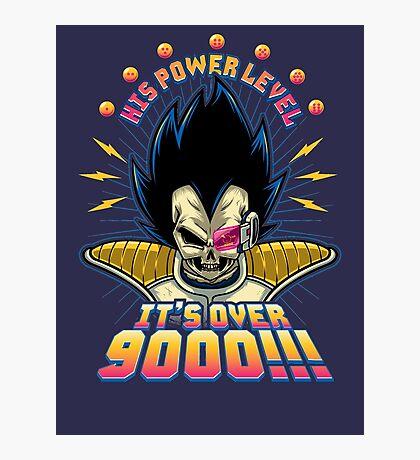 Over 9000! Photographic Print