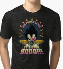 Over 9000! Tri-blend T-Shirt