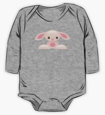 Little Pink Baby Bunny - The Shy One Piece - Long Sleeve