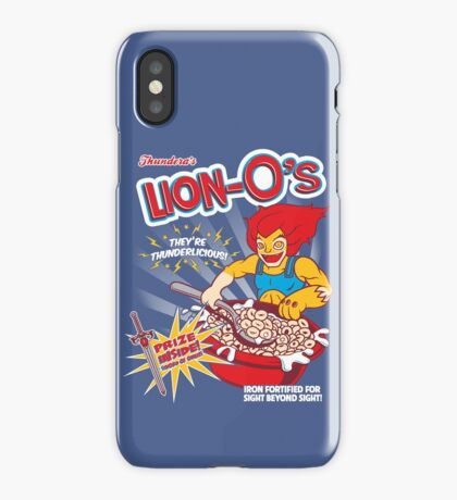Lion-O's Cereal iPhone Case