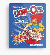 Lion-O's Cereal Metal Print