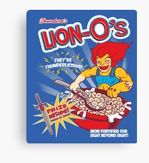 Lion-O's Cereal Canvas Print