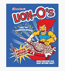 Lion-O's Cereal Photographic Print