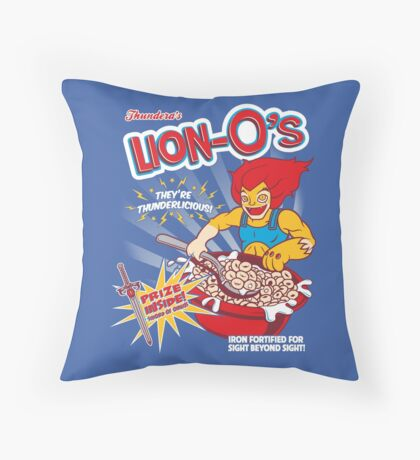 Lion-O's Cereal Throw Pillow