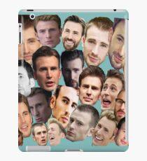 Chris Evans' face edits iPad Case/Skin