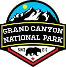 GRAND CANYON NATIONAL PARK ARIZONA MOUNTAINS HIKING CAMPING HIKE CAMP 1919 by MyHandmadeSigns