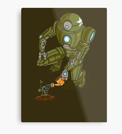 Eco-Robo Unit  #24 Metal Print