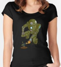 Eco-Robo Unit  #24 Women's Fitted Scoop T-Shirt
