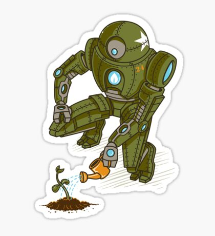Eco-Robo Unit  #24 Sticker