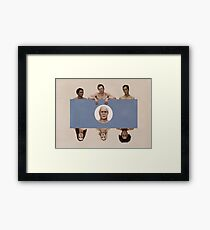 The study group Framed Print